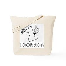 #1 - DOCTOR Tote Bag