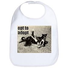 Opt To Adopt Cat Bib