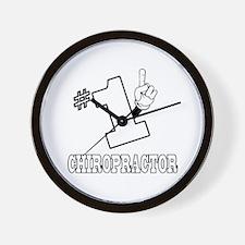 #1 - CHIROPRACTOR Wall Clock