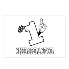 #1 - CHIROPRACTOR Postcards (Package of 8)