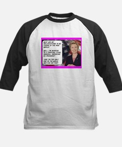 """Hillary's qualifications"" Tee"