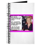 """""""Hillary's qualifications"""" Journal"""