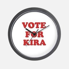 Vote for KIRA Wall Clock