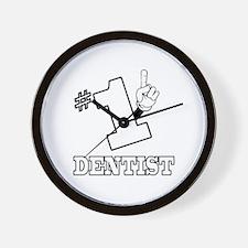 #1 - DENTIST Wall Clock