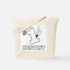 #1 - DENTIST Tote Bag