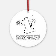 #1 - DENTIST Ornament (Round)