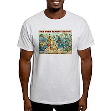 Bush Family Circus Ash Grey T-Shirt
