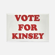 Vote for KINSEY Rectangle Magnet