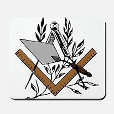 Masonic S&C with Trowel Mousepad