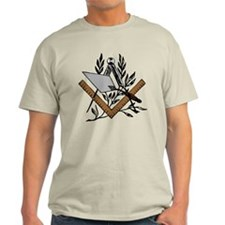 Masonic S&C with Trowel T-Shirt
