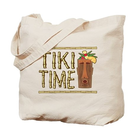 Tiki Time - Tote or Beach Bag