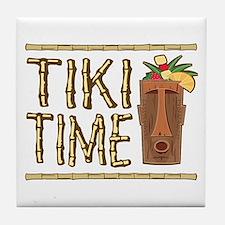 Tiki Time - Tile Coaster