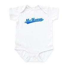 Retro McHenry (Blue) Infant Bodysuit