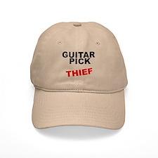 GUITAR PICK THIEF rock guitarist Baseball Cap