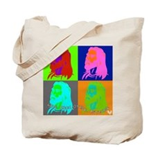 """Jesus says, """"Love Each Other, Bitches."""" Tote Bag"""