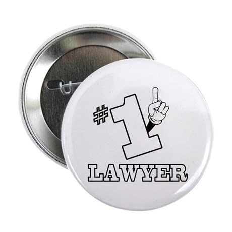 """#1 - LAWYER 2.25"""" Button"""