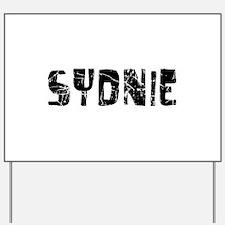 Sydnie Faded (Black) Yard Sign