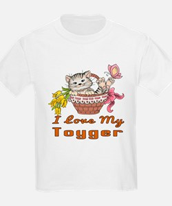 I Love My Toyger Designs T-Shirt