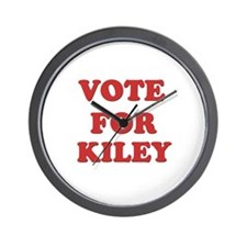 Vote for KILEY Wall Clock