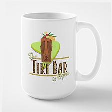 The Tiki Bar is Open - Mug