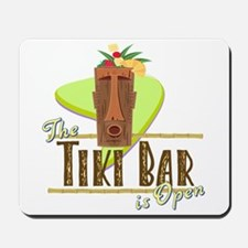 The Tiki Bar is Open - Mousepad
