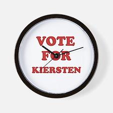 Vote for KIERSTEN Wall Clock