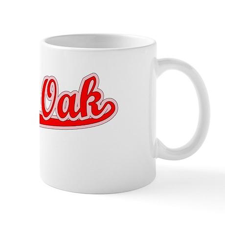 Retro Royal Oak (Red) Mug
