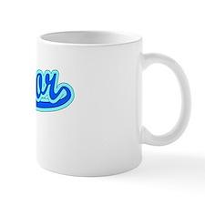 Retro Mentor (Blue) Mug