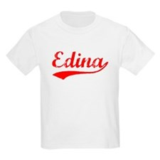 Vintage Edina (Red) T-Shirt