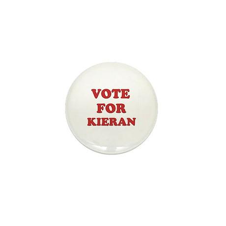 Vote for KIERAN Mini Button