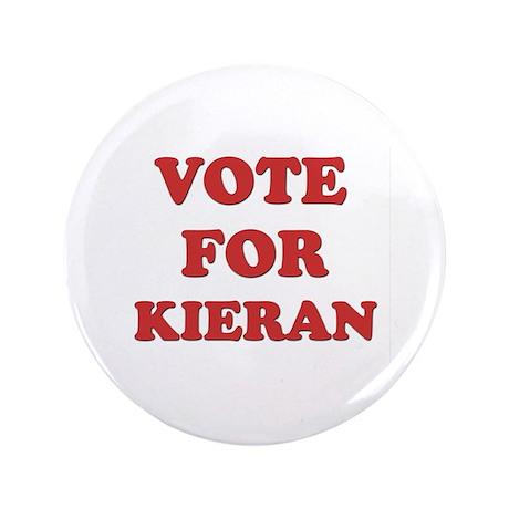 """Vote for KIERAN 3.5"""" Button"""