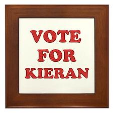 Vote for KIERAN Framed Tile