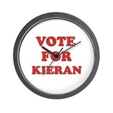 Vote for KIERAN Wall Clock