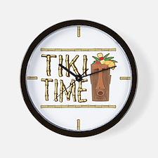 Tiki Time - Wall Clock