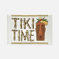 Tiki Time - Rectangle Magnet