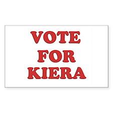 Vote for KIERA Rectangle Decal
