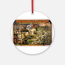 Buffalo Bill Ornament (Round)