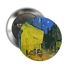 "Unique Van gogh 2.25"" Button"
