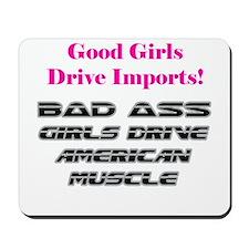 Bad Ass Girls Mousepad