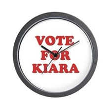 Vote for KIARA Wall Clock