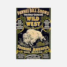 Pawnee Bill Rectangle Magnet