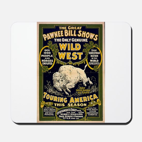 Pawnee Bill Mousepad