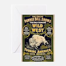 Pawnee Bill Greeting Card