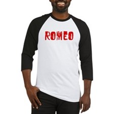 Romeo Faded (Red) Baseball Jersey