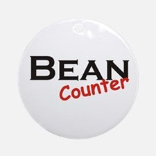 Bean Counter Ornament (Round)