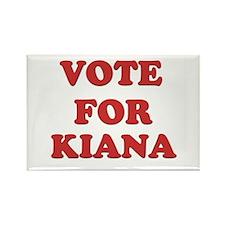 Vote for KIANA Rectangle Magnet