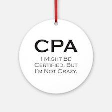 CPA #3 Ornament (Round)