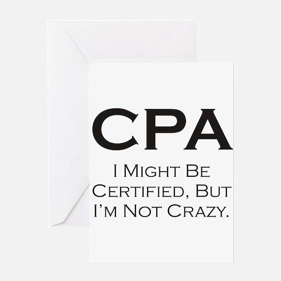 CPA #3 Greeting Card