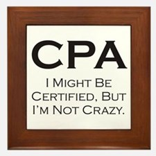 CPA #3 Framed Tile