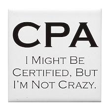 CPA #3 Tile Coaster